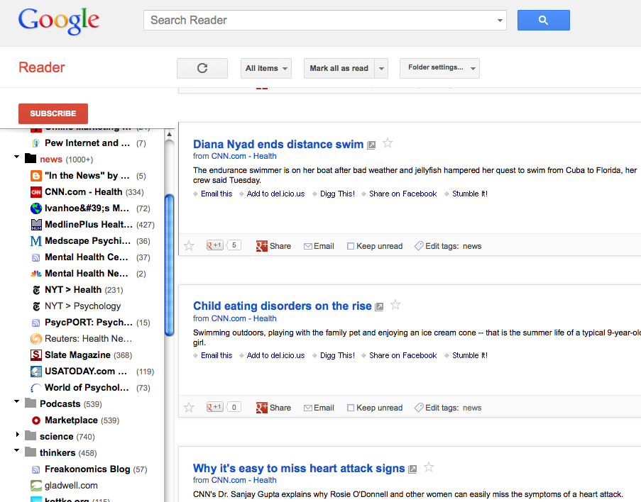 google reader