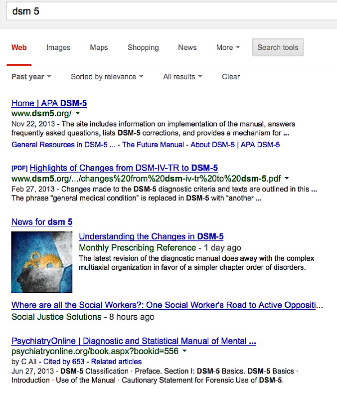 google-dsm5