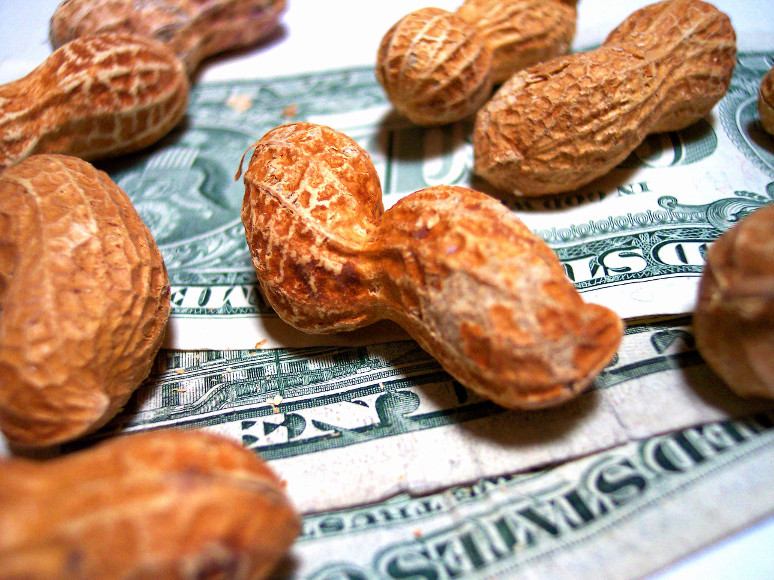 You didn't spend a fortune for graduate school to work for peanuts.