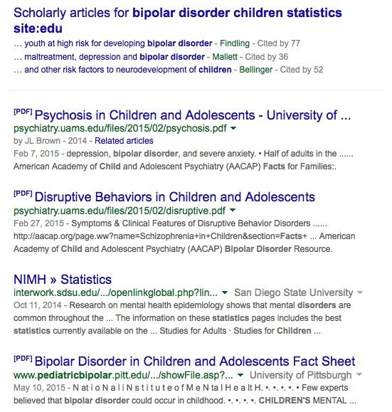 bipolar disorder children statistics site_edu - Google Search